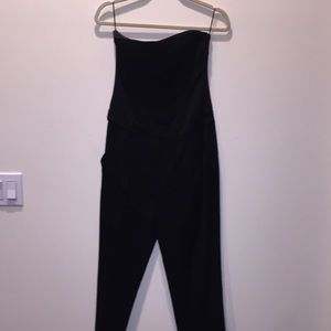 THEORY strapless jumpsuit